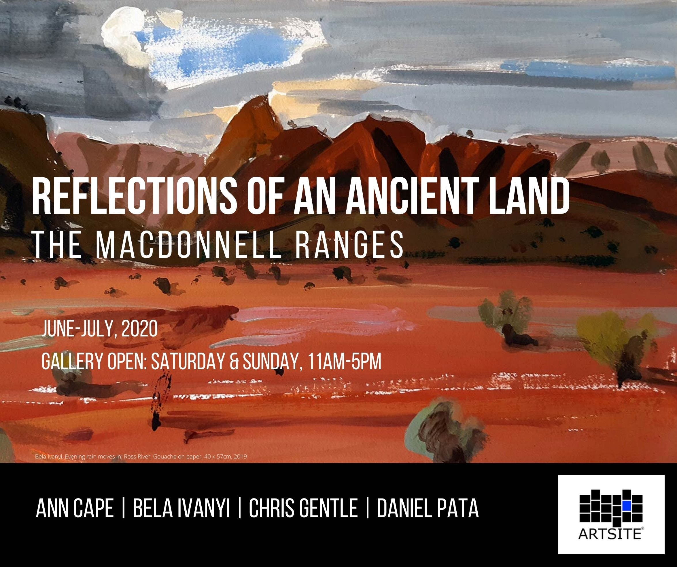 Reflections of An Ancient Land The MacDonnell Ranges - Tourism Cairns